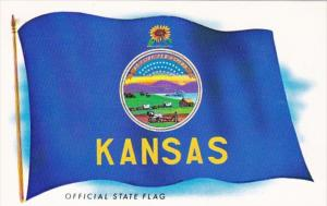 Kansas Official State Flag