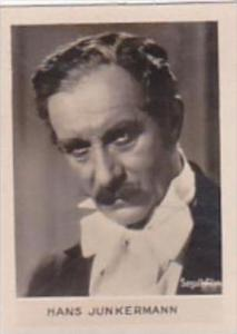Orami Cigarette Card Film Favourites Series C No 170 Hans Junkermann