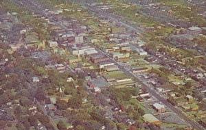 Aerial View Of Salisbury North Carolina