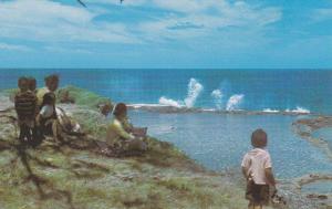Blow Holes , Houma , Tonga , 50-60s