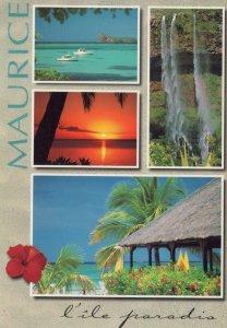 Mauritius Postcard -  L'ile Paradis - Views of Mauritius   RRR449