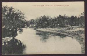 View on Otter Trail River,Breckenridge,MN Postcard