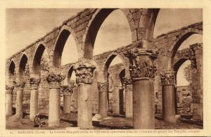 lebanon, BAALBECK BAALBEK, Great Arab Mosque (1920s)