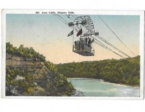 Aero Passenger Cable Niagara Falls New York c1910