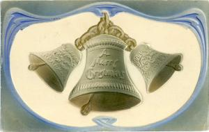 1908 Embossed D/B Christmas with Bells