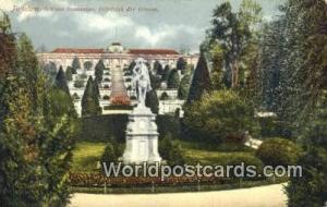Potsdam Germany, Deutschland Postcard Schloss Sanssouci Friedrich der Grosse ...