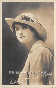 Lilian Hall Davis Theater Actor / Actress Unused