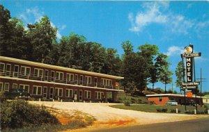 Marion North Carolina 1950s Postcard Pilot House Motel & Restaurant