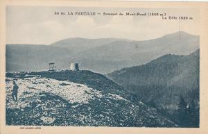 France la Faucille sommet du Mont-Rond