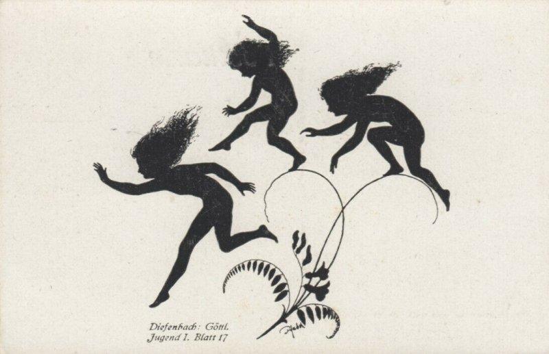 DIEFENBACH : Fantasy Silhouette , 00-10s ; Jugend I. Blatt 17