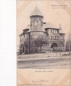 Connecticut Meriden High School 1905