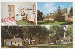 Willows Motel US 30 Lancaster Pennsylvania postcard