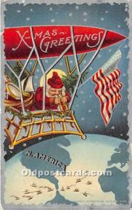 Santa Claus Postcard Old Vintage Christmas Post Card 1911