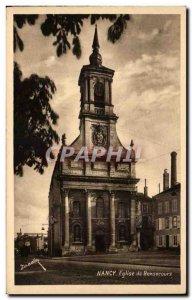 Old Postcard Nancy Bonsecours Church