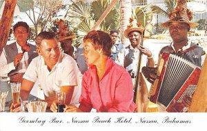 Goombay Bar, Nassau Beach Hotel Nassau, Bahamas Virgin Islands Unused