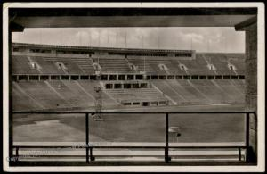 Germany 1936 Berlin Olympics Stadium Arena Reichssportsfeld  RPPC Card 71569