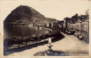 RP, Quai E S. Salvatore, Lugano (Ticino), Switzerland, 1920-1940s
