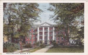 RALEIGH, North Carolina, PU-1927; Peace Institute