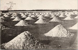 Salt Mounds South Australia State Tourist Bureau c1911 Postcard E64