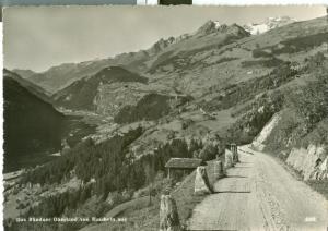 Switzerland, Suisse, Das Bundner Oberland von Ruschein aus