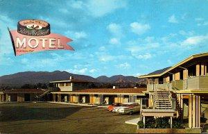 California Pasadena Rose Bowl Motel 1961