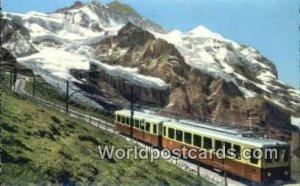 Jungfraubahn Jungfrau Swizerland Unused