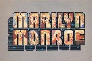 Vintage 1986 Postcard Marilyn Monroe by Shoot That Tiger 96U