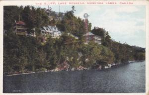 The Bluff, Lake Rosseau, MUSKOKA , Ontario , Canada , 1910s