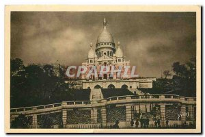 Old Postcard Paris Strolling the Sacre Coeur Basilica for the Street Steinkerque