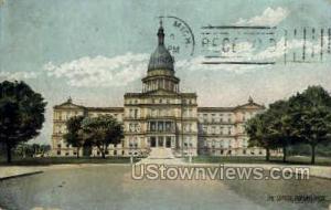 State Capitol Bldg. Lansing MI 1908