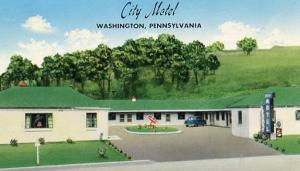 PA - Washington, City Motel