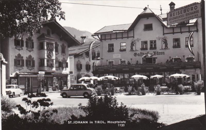 RP: St. Johann , TIROL , Austria , 30-40s ; Hauptplatz