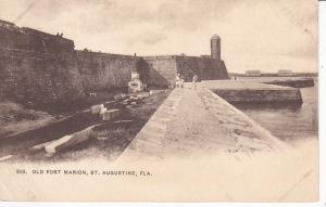 ST. AUGUSTINE, Florida, 1900-1910s; Old Fort Marion