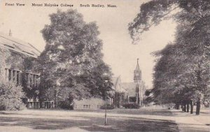 Massachusetts South Hadley Front View Mount Holyorke College Albertype