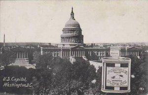 Advertising Pompeian Olive Oil U S Capitol Washington D C