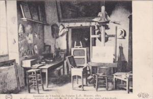 France Barbizopn Interior Of The Studio Of J F Millet At Time Of His Death 1908