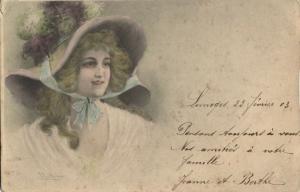 M.M. Vienne Unknown Series Artist Signed R.R. Wichera (1903) Postcard