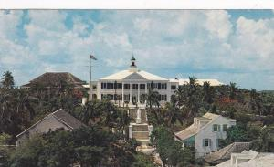 A Front View of Government House, Nassau, Bahamas, Antilles, 40-60's