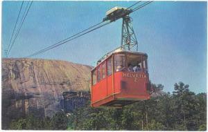 Skylift Cable Car #1 Georgia Aerial Cableway ,Stone Mountain, Atlanta, Chrome