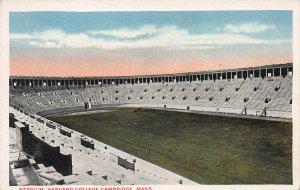 Stadium at Harvard College, Cambridge, Massachusetts, Early Postcard, Unused