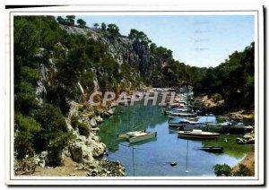 Modern Postcard Our Beautiful Creeks Near Cassis Calanque de Port-Miou