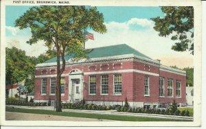 Brunswick, Maine, Post Office
