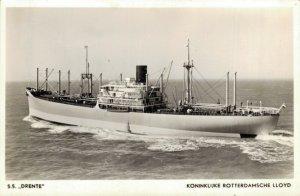 Ship S.S. Drenthe Koninklijke Rotterdamsche Lloyd Nautica 03.03