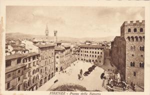 Piazza Della Signoria, FIRENZE (Tuscany), Italy, 1910-1920s
