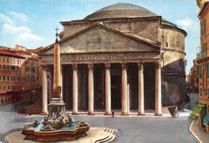 Italy Roma The Pantheon Il Pantheon Magrippalfcostertivmfecit