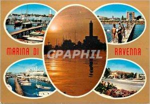 Postcard Modern Marina di ravenna