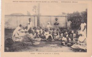 Africa Togo Diner en plein air a Anecho