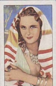 Gallaher Cigarette Cards Portraits Of Famous Stars No. 18 Tamara Desni