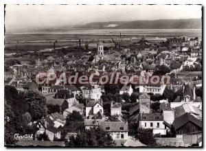 Modern Postcard Honfleur Vue Generale