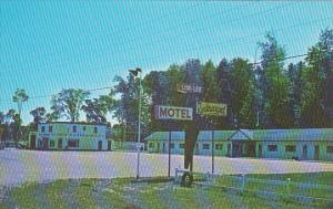 Canada Ontario Barrie Greetings From Lor Lee Motel & Texaco Service Station